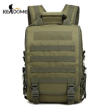 Mochila deportiva, Mochila Militar, Ejército de camuflaje, mochilas para hombres, mochilas tácticas Molle, Mochila de viaje al aire libre, bolsa táctica XA997WD