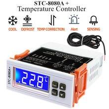 Minuterie de décongélation automatique pour réfrigérateur, Thermostat, contrôleur de température, sonde unique intelligente, 40% de réduction
