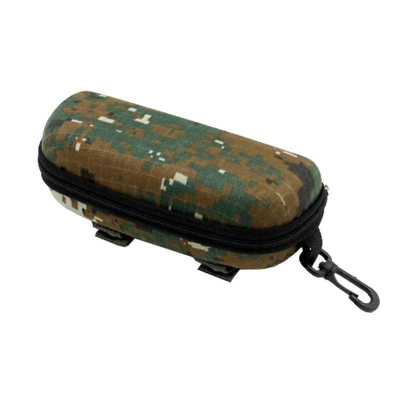 Eva Portable Kacamata Kotak Penyimpanan Pelindung Kamuflase Taktis Molle Kacamata Case EDC Aksesori Tas Luar Ruangan GMT601