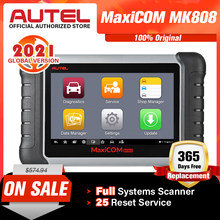 Autel MaxiCOM MK808 MX808 OBD OBDII Diagnostic Tool OBD2 Scanner Full Systems Diagnostic Tool Scanner Autel Scanner Automotive