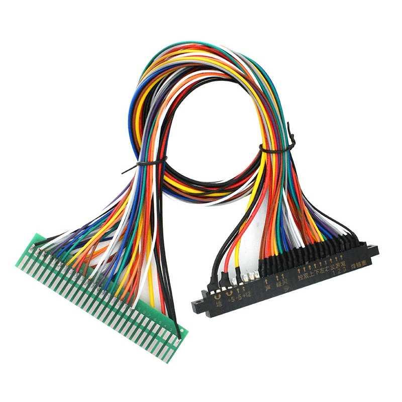 Jamma, mazo de cables de 28 pines Jamma Loom para Arcade Cabinet accesorios juegos 60 en 1