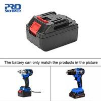 Bateria elétrica 21 v 4000 mah da chave de prostormer bateria de carregamento rápido do li íon para a chave sem fio 21 v|electric wrench|wrench electric|battery wrench -