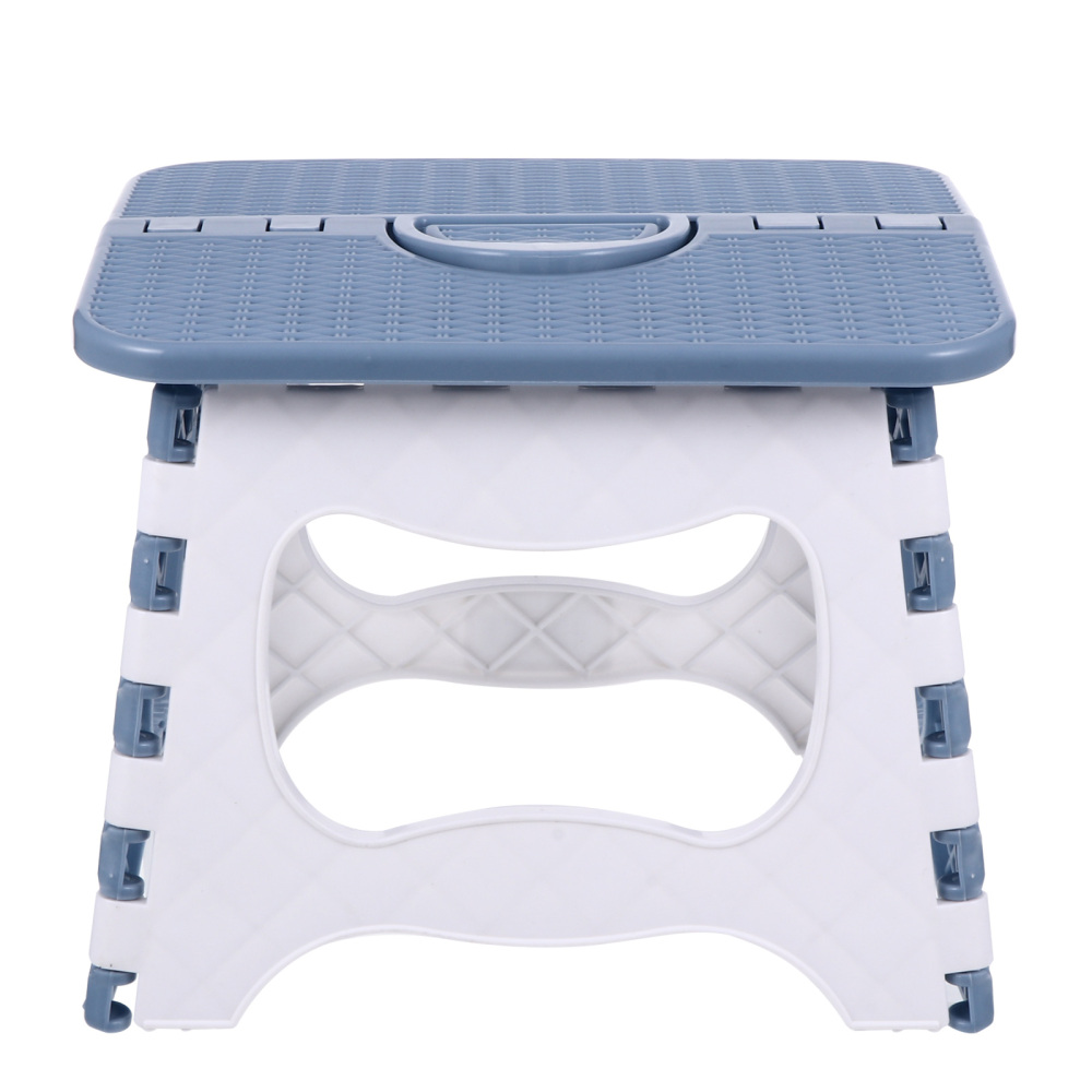 1Pc Folding Step Stool Plastic Foldable Stool Outdoor Portable Fishing Stool