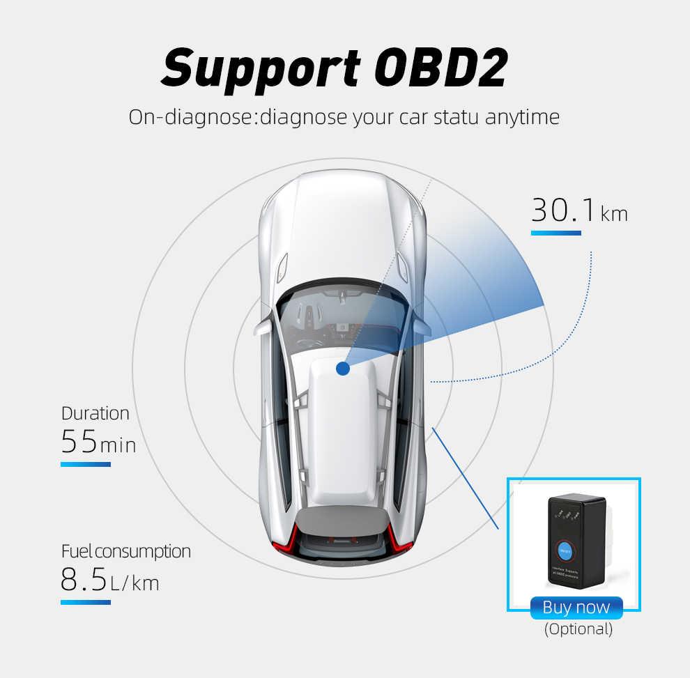 9 אינץ אנדרואיד 8.1 כפול 2Din רכב רדיו GPS אוטומטי רדיו 2 דין USB עבור פולקסווגן/פאסאט/גולף/סקודה/סיאט Wifi bluetooth 2din