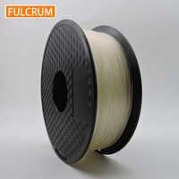 Fulcro petg/pla/abs/flex/filamento de náilon plástico para impressora 3d/1 kg 340 m/diâmetro 1.75mm/transporte de moscou