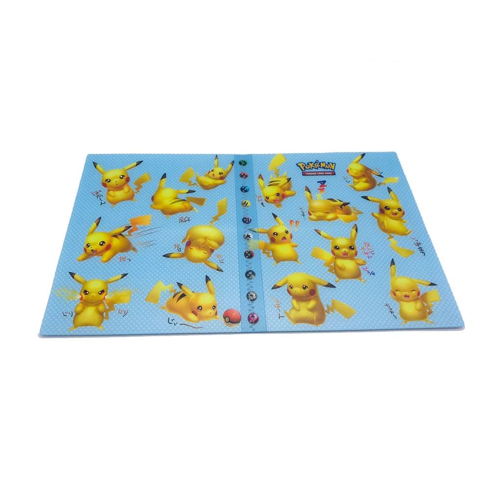 TAKARA TOMY держатель для карт с покемонами, альбом для игр Gx, коробка для карт с покемонами, 240 шт., держатель с покемонами, держатель для карт, Чехол для карт - Цвет: 16