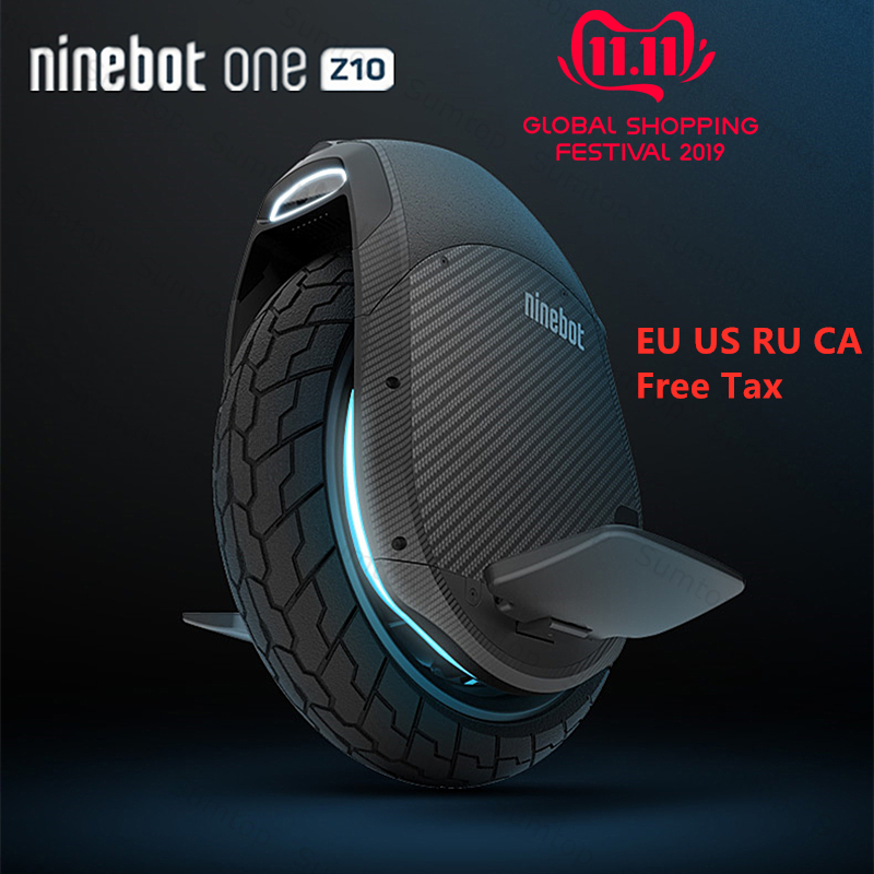 Original Ninebot un Z10 Z6 auto équilibrage Scooter électrique 45 km/h EUC soutien Bluetooth APP pliable monocycle moteur Hoverboard