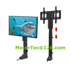 TV Lift Motorized TV Lift TV Automation System with mounting brackets free shipping