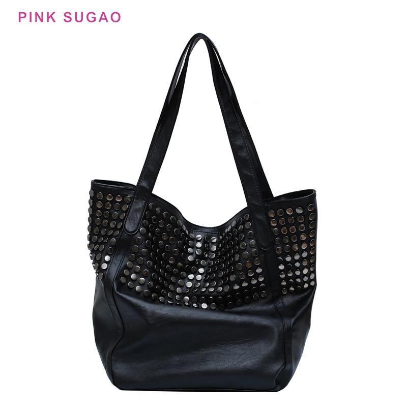 Pink Sugao luxury handbags women bags designer women purse leather purses and handbags tote bag shopping bag large capacity bags