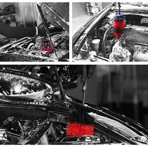 Image 5 - 4 Stuks Auto Wassen Borstel Set Auto Wiel Borstel Airconditioner Borstel Toetsenbord Swipe Huishoudelijke Borstel Auto Decoratie Auto gereedschap