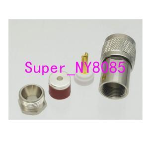 Image 2 - 10pcs UHF male Plug PL259 clamp RG58 LMR195 RG400 RG142 Cable RF connector
