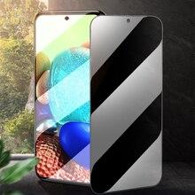 Vidro da privacidade para Samsung Galaxy A32 A42 A52 A72 F62 A51 A31 A41 A21 A21S A42 A12 A11 A30 A50 A70 M51 Anti Spy Protetor de Tela