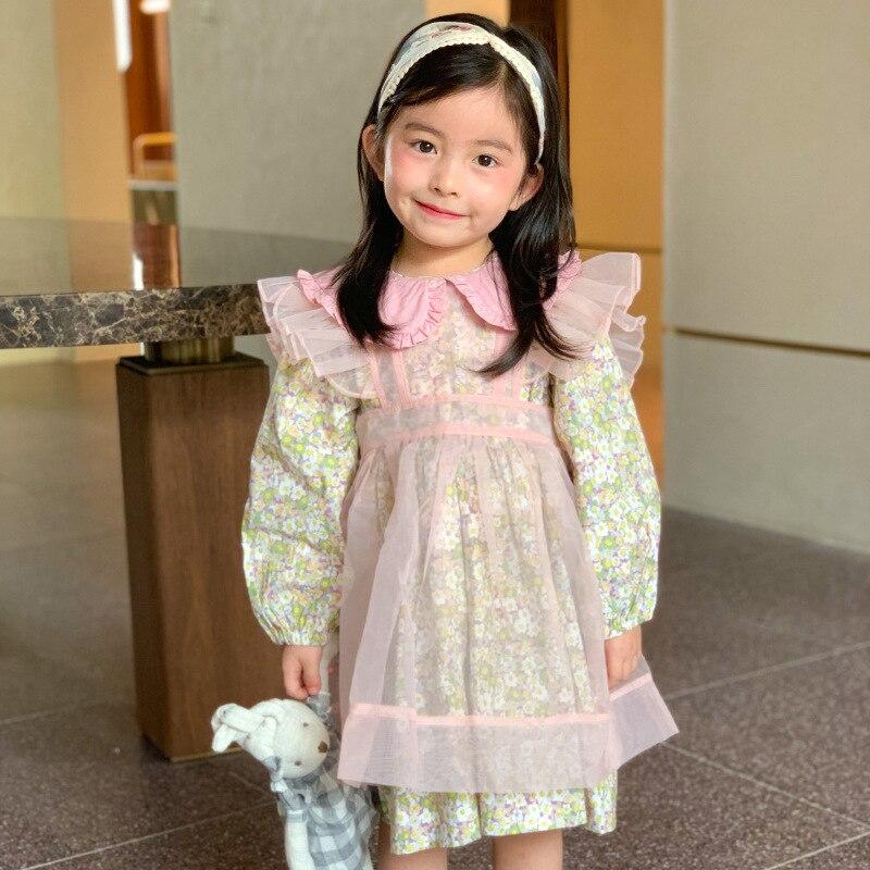 3944 г. Платье принцессы для девочек новое осеннее милое платье с длинными рукавами для малышей Сетчатое платье без рукавов вечерние платья для девочек платье для дня рождения|Платья|   | АлиЭкспресс