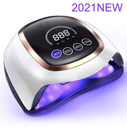 Upgraded Nails Lamp With Smart Touch Button And 4 Timers UV LED Lamp Nail Dryers For All Gels Fast Curing Speed Manicure Tools
