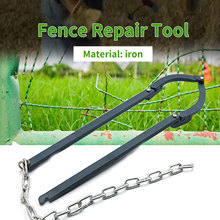 Repair-Tool Fence-Holder Garden Patcher Manual Slack Reinforcer Barbed-Wire Painted Fixing