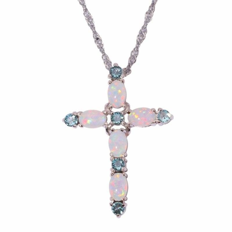 Ожерелье с подвеской-крестом для женщин, колье с фиолетовым цирконом, чокер с розовым кристаллом, 2020