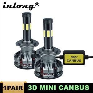 Image 1 - חדש הגעה H7 Led ללא שגיאה H4 רכב פנס נורות H11 LED H8 HB3 9005 HB4 9006 מנורת 6500K 12V 16000LM אוטומטי Led ערפל אורות