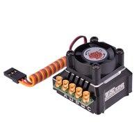 SKYRC TORO TS120 Brushless Sensored ESC Supporto Sensore Sensorless Brushless Motore Per 1:10 1:12 RC Auto Blu/Nero/oro