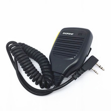 walkie talkie  Yellow Hand Mimi KMC-21 for baofeng BF888S UV82 UV5R for kenwood TK3107 TK3207 radios kenwood cm030 yellow