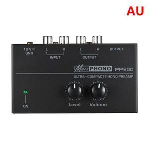 Image 5 - PP500 Phono Voorversterker Voorversterker Met Niveau Volumeregeling Voor Lp Vinyl Draaitafel