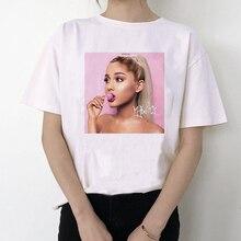 2020 Ariana Grande T Shirt Women 7 Rings Fashion Thank U,Next Tshirt 90s Hip Hop
