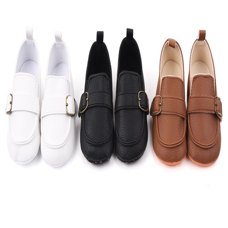Baby Shoes New Spring Autumn Infants First Walkers Newborn Soft PU Casual Shoes Antislip Boys Girls Shoes
