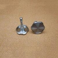 1 pair folding bike titanium alloy hinge clamp wrench round 48mm diameter for brompton bike hinge clamp