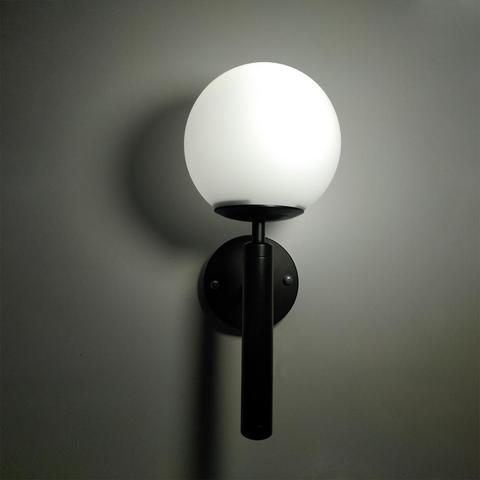 bola vidro wandlamp up down espelho