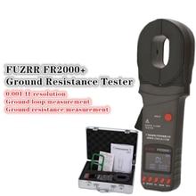 FUZRR FR2000 + seria cyfrowy zacisk na ziemi Tester rezystancji uziemienia odgromowa ochrona odgromowa 99 Set