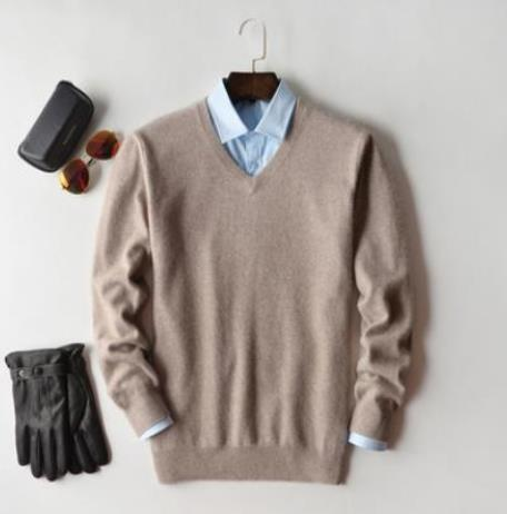 Cashmere Cotton Blend Pullover Men Sweater 2020 Autumn Winter Man Clothes Jersey Sueter Hombre Pull Homme Sweter Mens Jumper 2