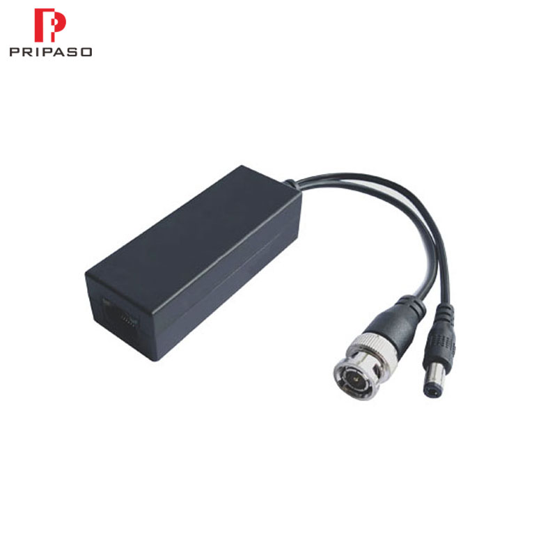 1PCS High Quality UTP CAT5/5E/6 Video Balun Support 720P 1080P AHD CVI TVI Camera 200M HD Transceivers Adapter Transmitter