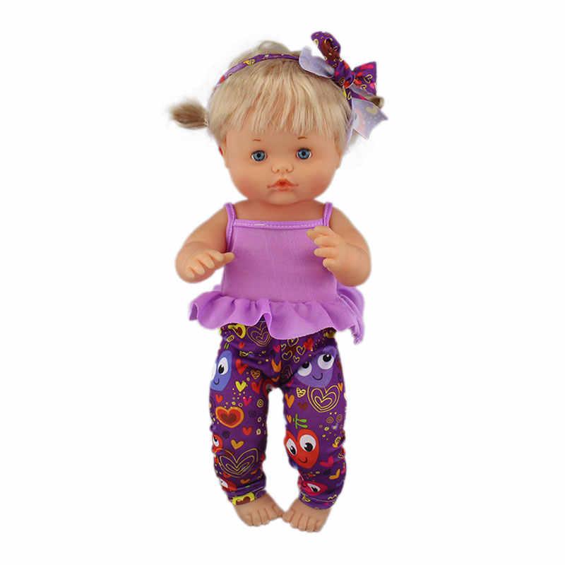 3 uds. En 1, nueva ropa de vestir de ocio se adapta a la muñeca nanuco de 42 cm y accesorios para muñecas de su hermana