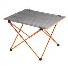 Portable Outdoor Aluminium Alloy Ultra-light Foldable Table Ultralight Foldable Furniture Table for Camping Hiking Picnic