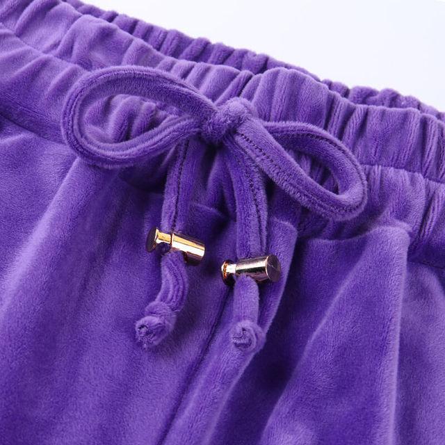 Artsu Flannel 2 Two Piece Set Sport Suit Pink Fleece Crop Top Hoodies Sweat Pants Women Matching Sets Clothing Outfit Sportswear 6