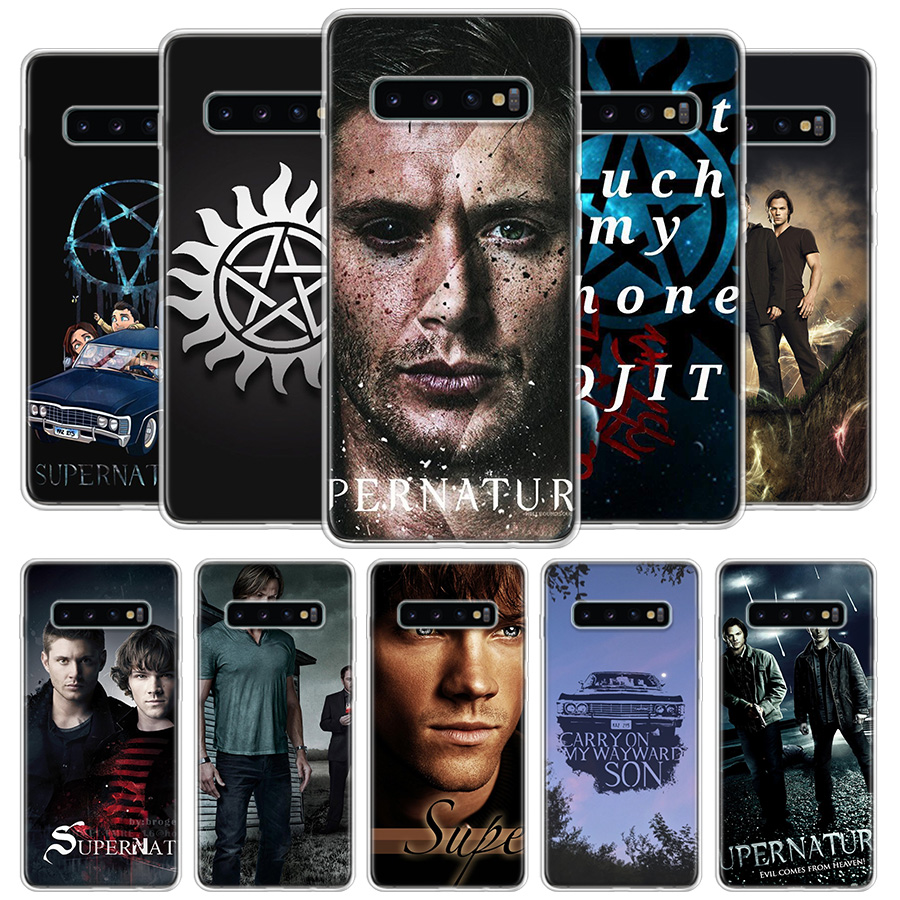 Supernatural Cover Phone Case For Samsung Galaxy S11 S10 Lite Note 10 9 8 S9 S8 J4 J6 J8 Plus + S7 Edge Coque Shell image