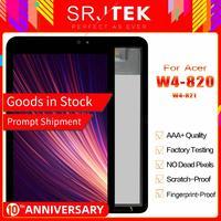 """Srjtek LCD תצוגת 8 """"עבור Acer Iconia W4 820 W4 820 W4 821 מגע מסך Digitizer חיישן מטריקס פנל לוח החלפה חלקי-בפנלים וצגי LCD לטאבלט מתוך מחשב ומשרד באתר"""