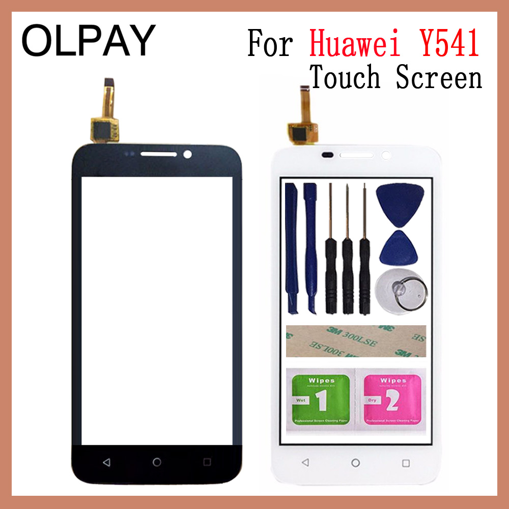 Mobile Phone Touch Panel 4.5'' Inch For Huawei Y541 Y5 Y5c Y541-U02 Touch Screen Digitizer Panel Fornt Glass Sensor Repair Parts