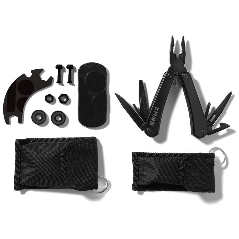 PLAN B Field Kit Skateboard Tool Installation Multi Function Tools Keys For Skate Board Hardware Tools