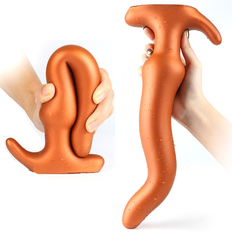 Super Soft <font><b>Silicone</b></font> Vagina Dildo Anus Dilator <font><b>Vibrator</b></font> Bullet <font><b>Anal</b></font> Plug <font><b>Sex</b></font> <font><b>Toys</b></font> <font><b>For</b></font> <font><b>Women</b></font> <font><b>Erotic</b></font> Men Butt Plug Prostate Massage image