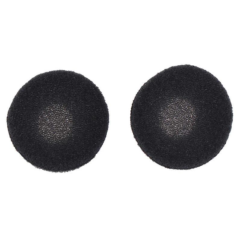 40 sztuk gąbka okładki czarna miękka pianka słuchawka douszna Wkładki do uszu do słuchawki MP3 MP4 telefon komórkowy