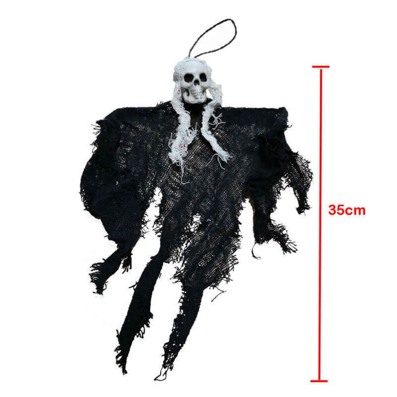 2019 Halloween Horror Pendant Skeleton Party Decor Scary Hanging Skull Grim Reaper Party Prop