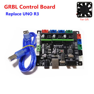 GRBL CNC laser motherboard TTL control plate MKS DLC V2.0 breakout board cnc shield v3 expansion board arduino UNO R3 upgrade