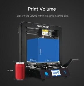 Image 5 - ANYCUBIC i3 ميجا ميجا S طابعة ثلاثية الأبعاد حجم كبير منصة الطباعة الإطار المعدني الكامل عالية الدقة FDM ثلاثية الأبعاد مجموعة الطابعة impresora ثلاثية الأبعاد