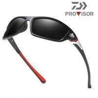Professional Daiwa Frame HD Polarized Sunglasses Pro Fishing Eyewear Glasses Hiking Running Golf Outdoor Sport Sunglass P120