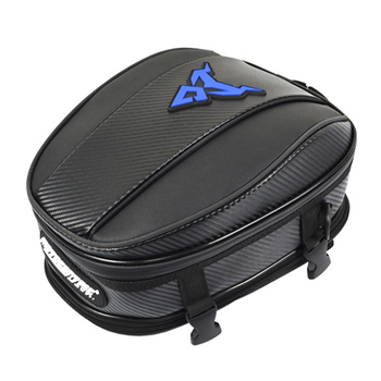 Hot Package Reflective Strip Zipper Durable Adjustable Travel Fixable Motorcycle Tail Bag Back Tank Large Capacity EVA Handheld