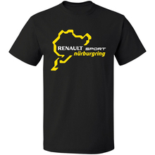 RENAULT SPORT NURBURGRING Clio R3 Touring Car Racinger Free Shipping 100% Cotton Tops T Shirt Homme Summer Short Sleeves T-Shirt bob ross official everybody needs a friend t shirt summer short sleeves fashion t shirt free shipping funny 100% cotton