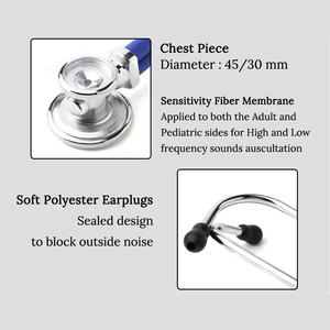 Image 5 - Multifunctional Doctor Stethoscope Cardiology Medical Stethoscope Professional Doctor Nurse Medical Equipment Medical Devices