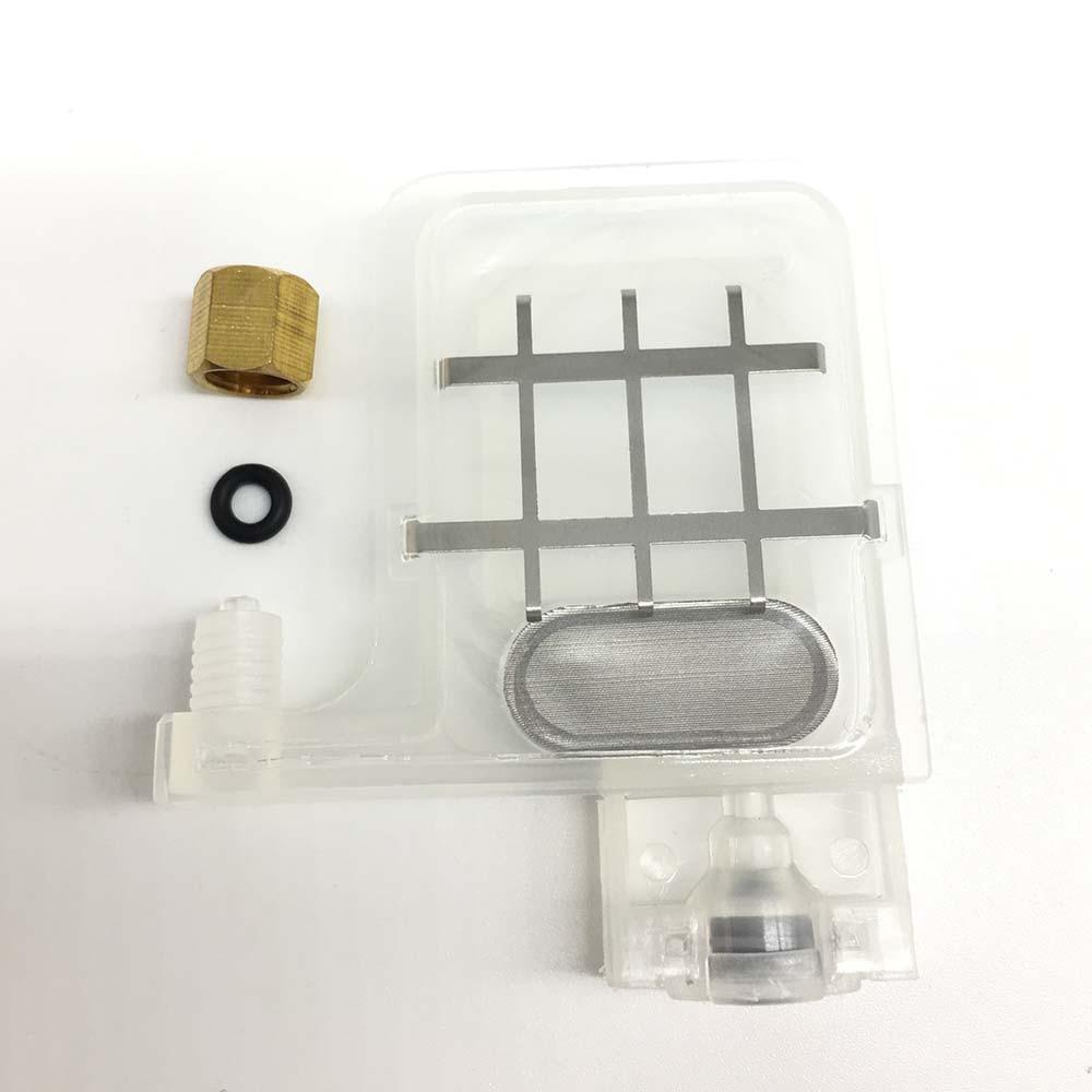 ink damper for EPSON DX4 DX5 xp600 Mutoh Galaxy Allwin Human Xuli printer ink dumper 8 pcs Transparent DX5 big(China)