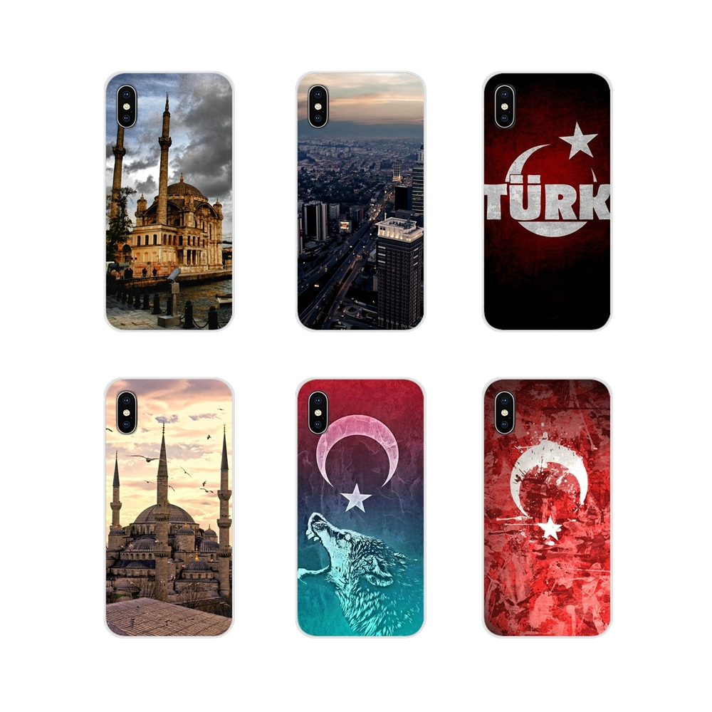 The Republic of Turkey <font><b>Flag</b></font> Ankara For <font><b>Samsung</b></font> <font><b>A10</b></font> A30 A40 A50 A60 A70 Galaxy S2 Note 2 3 Grand Core Prime Cell Phone Case Cover image