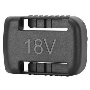 Image 5 - 5 шт. черные крепления батареи для De Walt XR 18V 60V Полка Для Хранения Подставка держатель Слоты вешалка для полок в мастерских